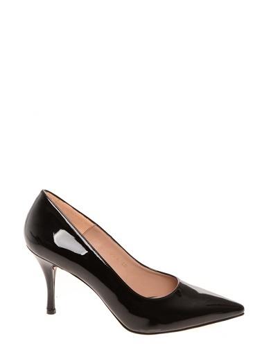 Queen Bee Queen Bee Rugan  Topuklu Ayakkabı Siyah